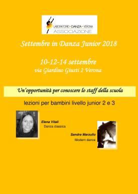 Settembre in danza Giardino Giusti